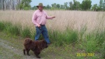 David in Gary Indiana at the matured Prairie we established.